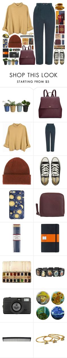 """""""281016"""" by rosemarykate ❤ liked on Polyvore featuring Kate Spade, Topshop, Paul Smith, Converse, Givenchy, i am a, Moleskine, Lomography, T3 and Gorjana"""