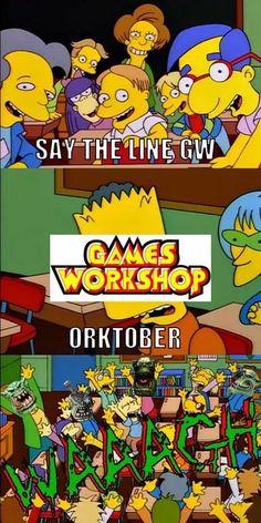 Warhammer 40k Memes, Warhammer 40000, Orks 40k, Writing Memes, Warhammer 40k Miniatures, Art Memes, Starcraft, Funny Games, Funny Comics