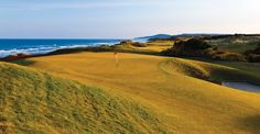 Bandon Dunes in Oregon, looking north, April 2011. Photo by Brian Oar