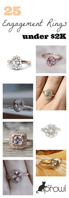 Who knew gorgeous engagement rings could be so affordable!?