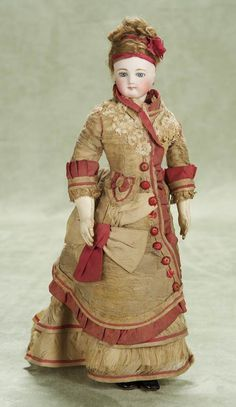Antique French Fashion Dolls and Accessories