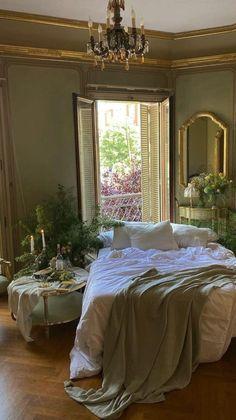 Room Ideas Bedroom, Bedroom Decor, Cozy Bedroom, Dream Apartment, Aesthetic Room Decor, Dream Home Design, Dream Rooms, Cool Rooms, My New Room