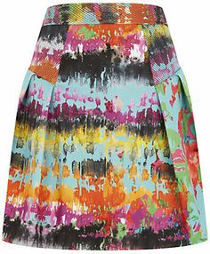 Milly Tropical Print Skirt on shopstyle.co.uk