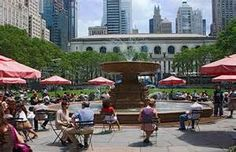 Bryant Park, NYC NY - Bing Images