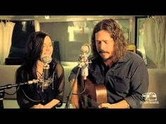 The Civil Wars - Kingdom Come (Live). I adore their voices together. I wish they had done safe and sound without Taylor Swift.