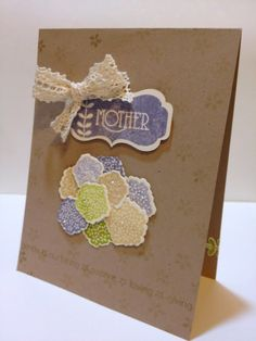 Mother's Day card using Papertrey Ink stamps