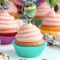 blow pop cupcakes
