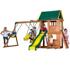 somerset all cedar swing playset swings home depot and backyards