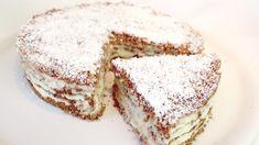 Žádná trouba, čerstvý a levný lahodný dort # 323 Apple Desserts, No Cook Desserts, Delicious Desserts, Italian Desserts, No Bake Treats, No Bake Cookies, No Bake Cake, Cooking Cake, Cooking Recipes