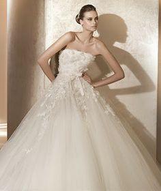 Hoje vou casar assim: Vestidos de noiva Elie Saab para Pronovias - 2012
