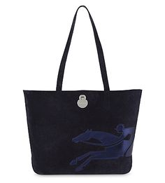 LONGCHAMP - Shop It medium suede tote | Selfridges.com