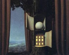 The voice of blood - Rene Magritte