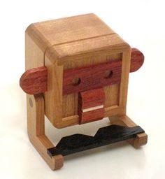 Jerry's Mechanical Puzzle Collection: 2015 Karakuri Christmas Present #5 - Monkey