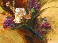 How To Create An Impressionist Flower Painting