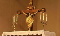 أفعال التعويض الخمسة ليسوع في سرّ القربان الأقدس