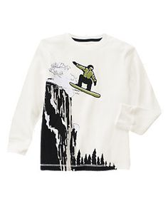 Snowboarder Thermal Tee