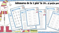 ADUNĂRI și SCĂDERI până la 5 Thing 1, Math For Kids, Bullet Journal, Games, Gaming, Plays, Game, Toys