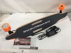 SWAGTRON SwagBoard NG-1 Electric Longboard UL 2272 Certified Motorized NO REMOTE #SWAGTRON