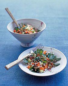 Watercress and Barley Salad