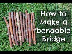 DIY Small animal Bendable Bridge - YouTube