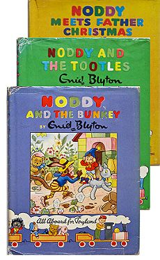 Noddy! One of the cutest characters by legendary author Enid Blyton