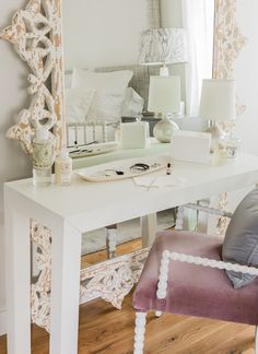Fabric Covered Console Table   Google Search