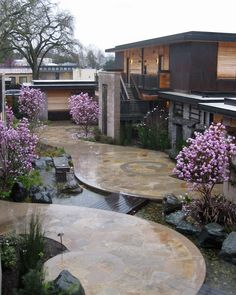 I like this type of space but can't imagine using it as an actual garden. magnolia / susan cohan gardens / green home