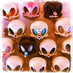 Skelve masks (wall mount)