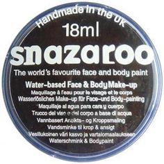 Snazaroo Face Paint : Black 18 ml £3.95