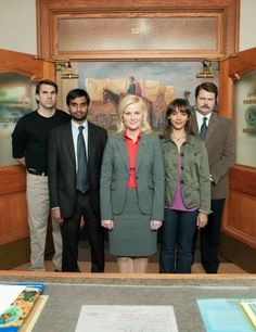 Parks and Recreation Cast Picture