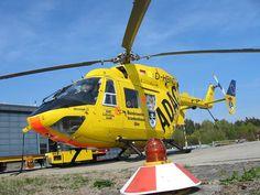 Rettungshubschrauber zum Klinikum Augsburg - gehen Sie zum Unterschreiben
