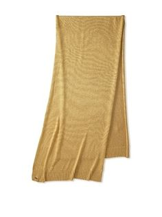 68% OFF adidas SLVR Women's Gold Knit Scarf, Gold