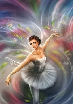 Ballerina by daekazu on @DeviantArt