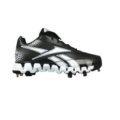 SALE - Reebok Zig Cooperstown Baseball Cleats Mens Black Leather - Was $114.99 - SAVE $25.00. BUY Now - ONLY $89.99