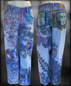 Sharpie jeans