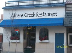 Athens Greek Restaurant in Downtown Mansfield, Ohio