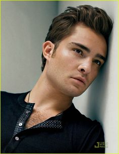 Ou Chuck Bass... I would marry you...