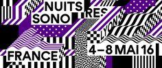IDENTITÉ VISUELLE 2016 : NUITS SONORES CHOISIT STUDIO FEIXEN #nuitssonores