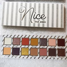 """250.2k Likes, 2,977 Comments - Kylie Cosmetics (@kyliecosmetics) on Instagram: """"Say Hello To The Nice Palette #Holiday2017"""""""