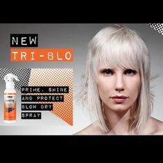 PRODUCT LAUNCH! Who's eager to get their hands on Fudge TRI-BLO Spray: Shine, prime and protect hair when blow drying with invisi-shield triple action technology!  As used backstage at London Collections Men Fashion week. Available from your Fudge Professional Rep/Distributor now. #triblo #blowdry #planetF