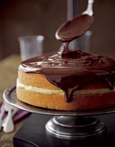 Boston Cream Pie Cake by cecilia