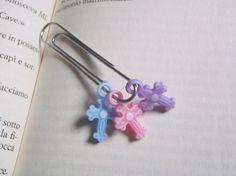 pastel goth clip planner kawaii pink purple blue organizer bookmark school art…