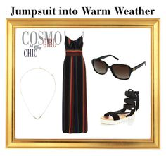 """Jumpsuit into Warm Weather"" by fashionistasrock on Polyvore featuring Voodoo Vixen, Miss KG and Tory Burch"