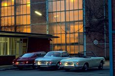 Volkswagen Karmann Ghia type 34 coupe models for '61, '65 and '69