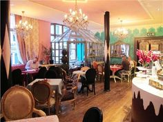 Richmond Tea Rooms, Manchester city centre - love this place!