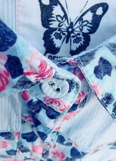 Kup mój przedmiot na #vintedpl http://www.vinted.pl/damska-odziez/koszule/10552112-koszula-na-krotki-rekaw-w-kwiaty