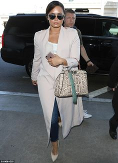It's been a busy year: Demi, seen in LA last week, is currently on her Future Now Tour wit...