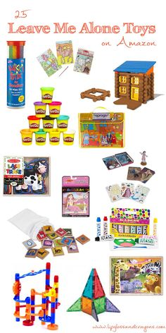 21 Leave Me ALONE Toys on Amazon that Encourage Independent Play by lifestyle blogger Carly from Lipgloss and Crayons