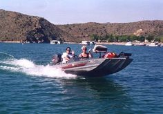 Great just cruising on Elephant Butte Lake!