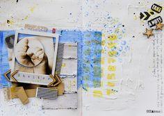 "made by Sascha Schmidt ► SODAlicious art journal challenge No13 ""Shelter"""